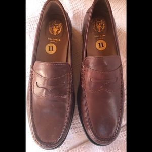 Cole Hann Pinch Maine Classic Penny loafers.